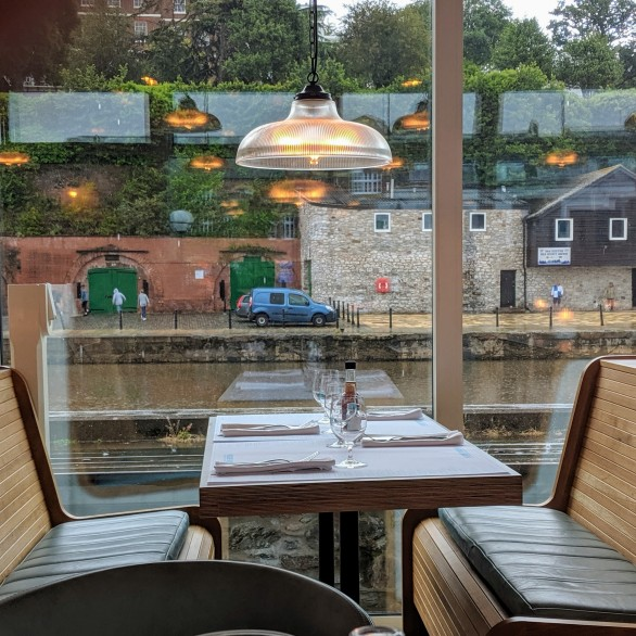 Rockfish River Exe View from your table
